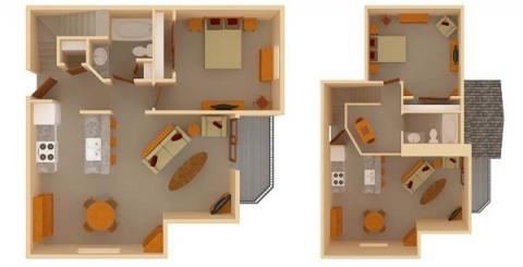2 Bedrooms 2 Bathrooms Apartment for rent at Ridgewood Trails in Madison, WI