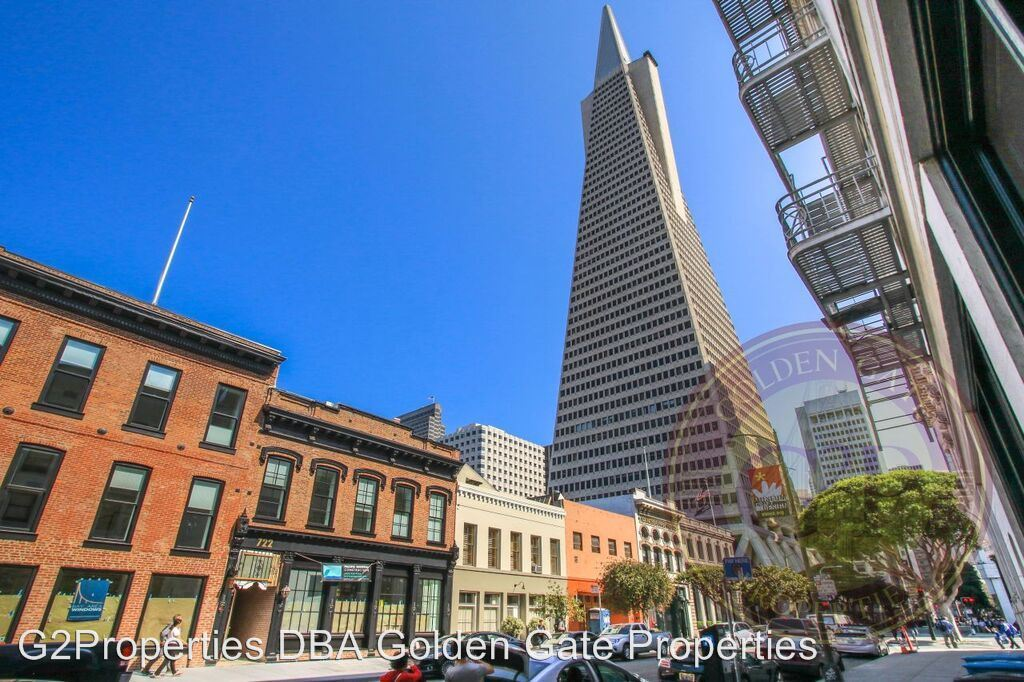 2 Bedrooms 1 Bathroom Apartment for rent at 722 Montgomery Street in San Francisco, CA