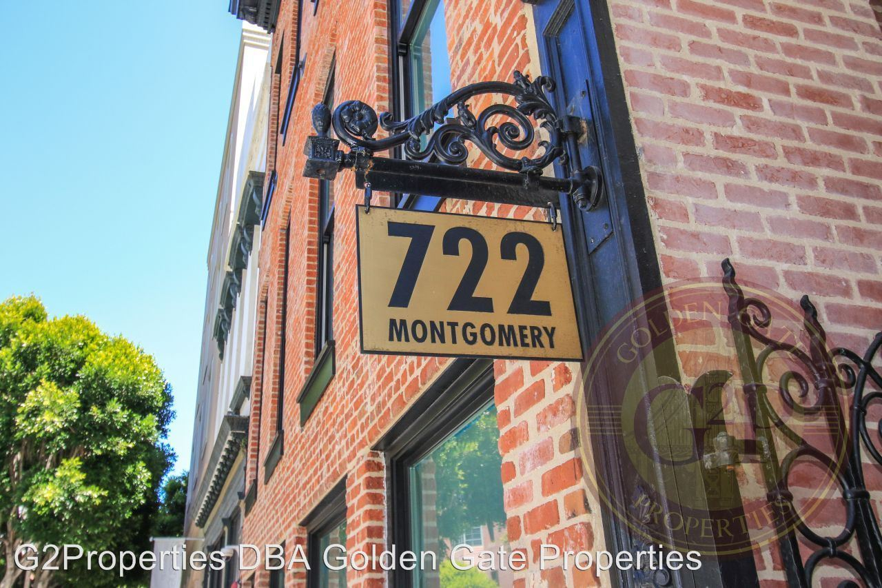 1 Bedroom 1 Bathroom Apartment for rent at 722 Montgomery Street in San Francisco, CA