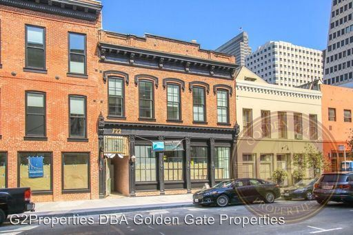 2 Bedrooms 2 Bathrooms Apartment for rent at 722 Montgomery Street in San Francisco, CA