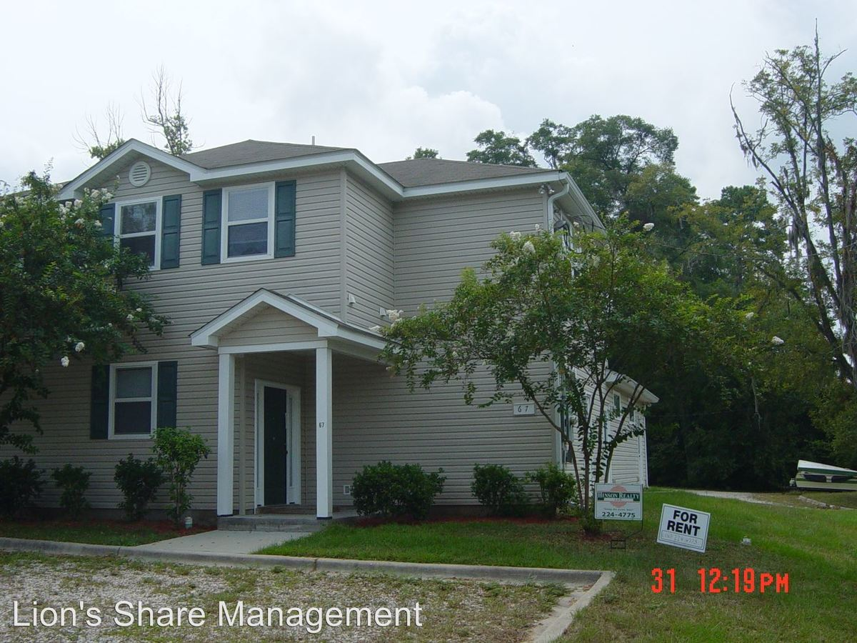 1 Bedroom 1 Bathroom Apartment for rent at 67 Bass St. in Tallahassee, FL