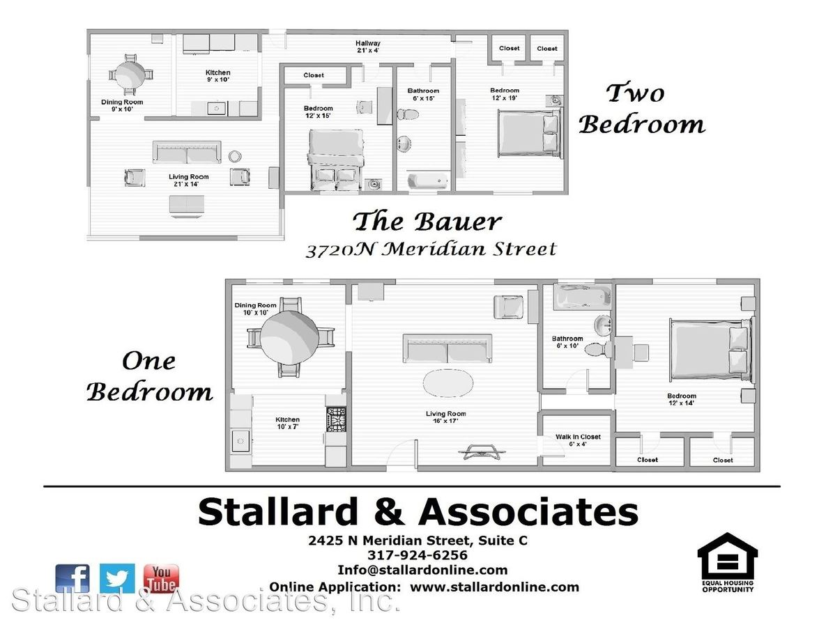Studio 1 Bathroom Apartment for rent at 3720 N. Meridian Street, Bauer in Indianapolis, IN