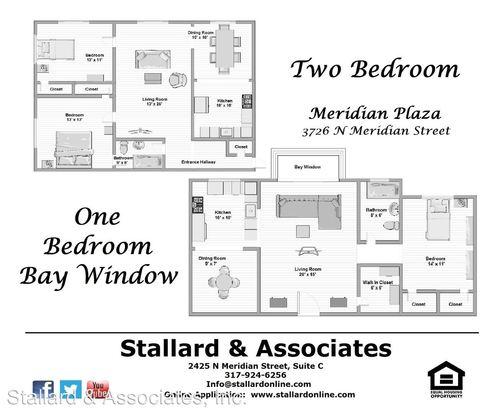Studio 1 Bathroom Apartment for rent at Meridian Plaza Associates 205 3726 N. Meridian Street in Indianapolis, IN