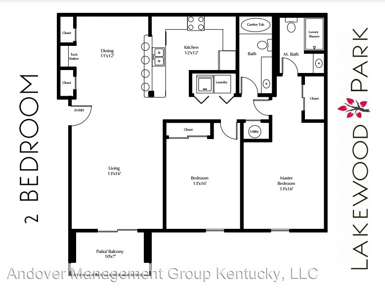 2 Bedrooms 2 Bathrooms Apartment for rent at 495 Laketower Drive in Lexington, KY