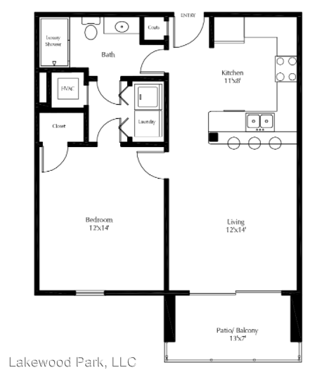 1 Bedroom 1 Bathroom Apartment for rent at 495 Laketower Drive in Lexington, KY