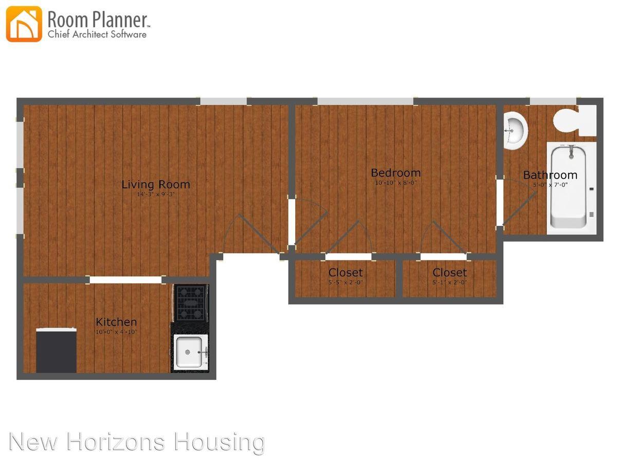 1 Bedroom 1 Bathroom Apartment for rent at 4417 Pine Street in Philadelphia, PA