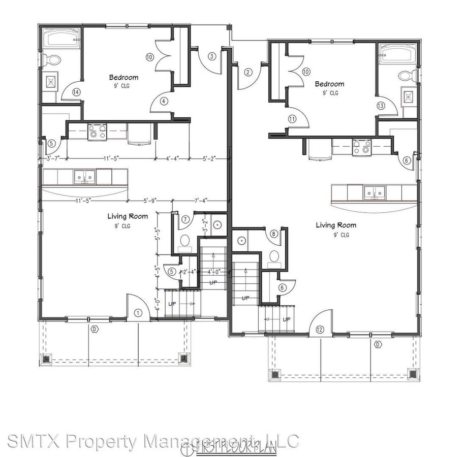 4 Bedrooms 4+ Bathrooms Apartment for rent at 918 N Lbj Dr in San Marcos, TX