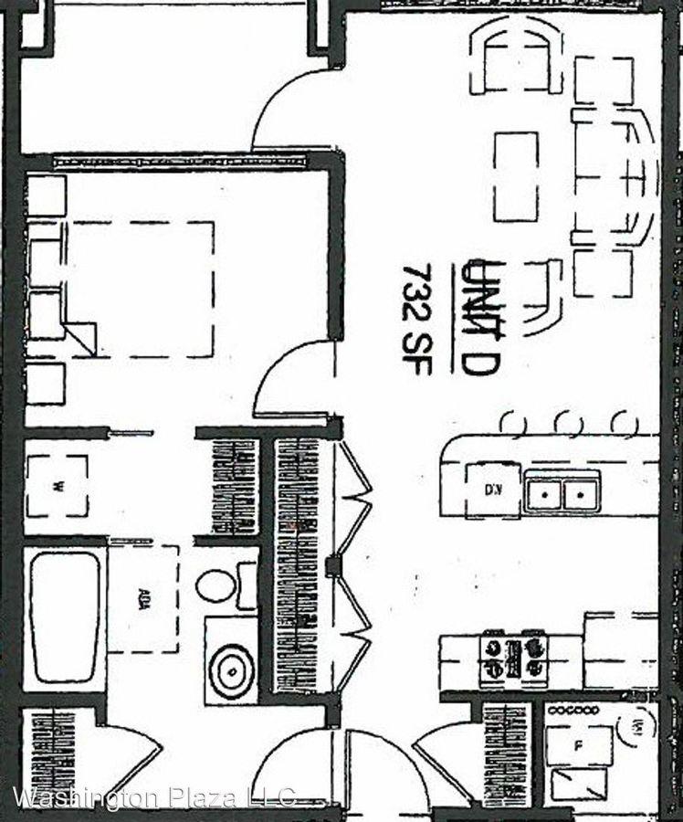 1 Bedroom 1 Bathroom Apartment for rent at 146 S Vanburen in Iowa City, IA