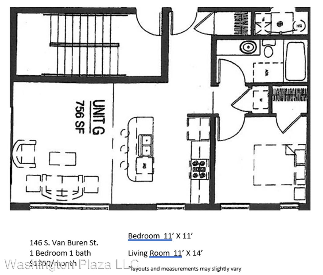 146 S Vanburen St Iowa City, IA Apartment For Rent