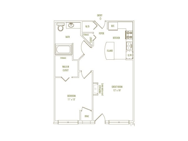 1 Bedroom 1 Bathroom Apartment for rent at Loring Park Apartments in Minneapolis, MN