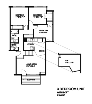 2 Bedrooms 1 Bathroom Apartment for rent at Wilson Park Garden Town Homes in Milwaukee, WI