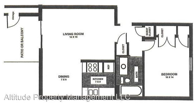 1 Bedroom 1 Bathroom Apartment for rent at 3645 Wingate Court in Indianapolis, IN