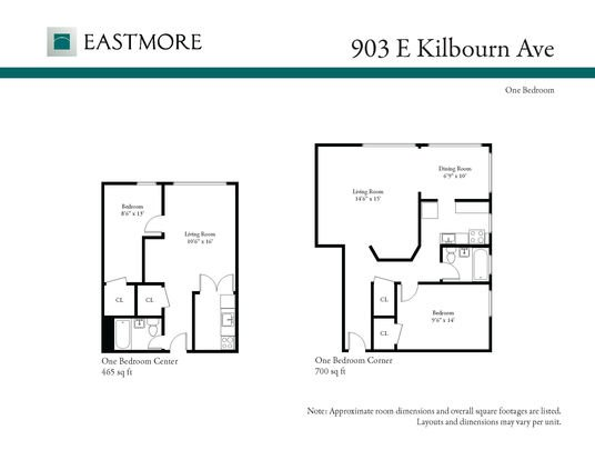 1 Bedroom 1 Bathroom Apartment for rent at 903 E Kilbourn Ave in Milwaukee, WI