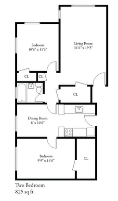 2 Bedrooms 1 Bathroom Apartment for rent at 2632 N Oakland Ave in Milwaukee, WI