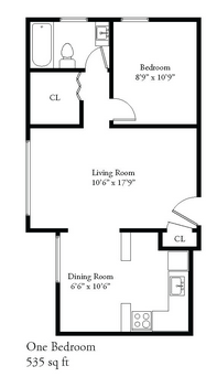 1 Bedroom 1 Bathroom Apartment for rent at 2443 N Cramer St in Milwaukee, WI