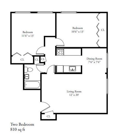 2 Bedrooms 1 Bathroom Apartment for rent at 1320 E. Capitol Drive in Shorewood, WI