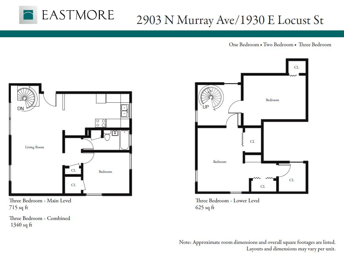 3 Bedrooms 1 Bathroom Apartment for rent at Eastmore 2903 N. Murray in Milwaukee, WI