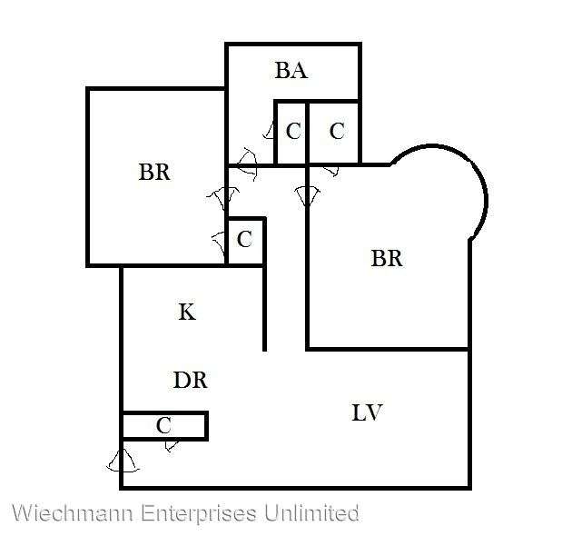 2 Bedrooms 1 Bathroom Apartment for rent at Stowell House in Milwaukee, WI
