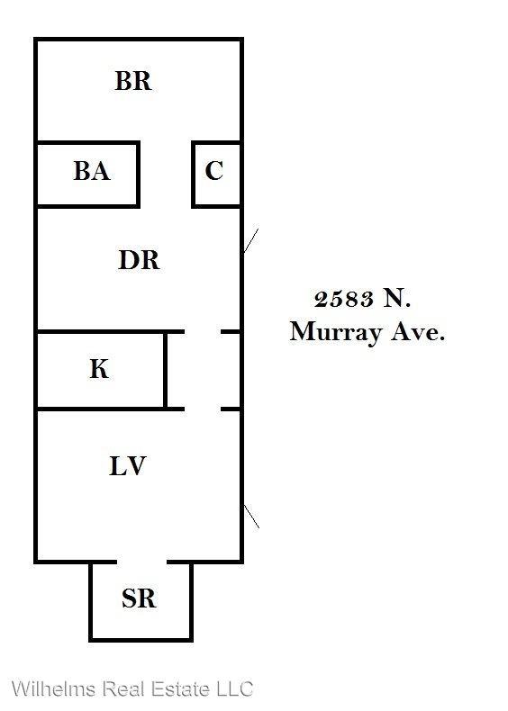 1 Bedroom 1 Bathroom Apartment for rent at 2583 N. Murray in Milwaukee, WI