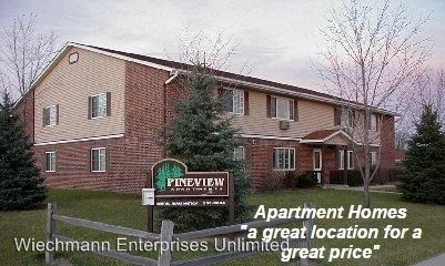 2 Bedrooms 1 Bathroom Apartment for rent at Pineview Apartments in Jackson, WI