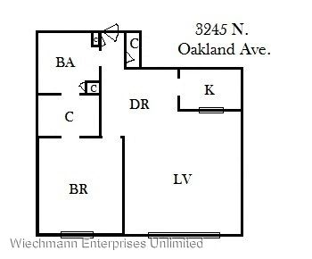 1 Bedroom 1 Bathroom Apartment for rent at 3245 Oakland in Milwaukee, WI