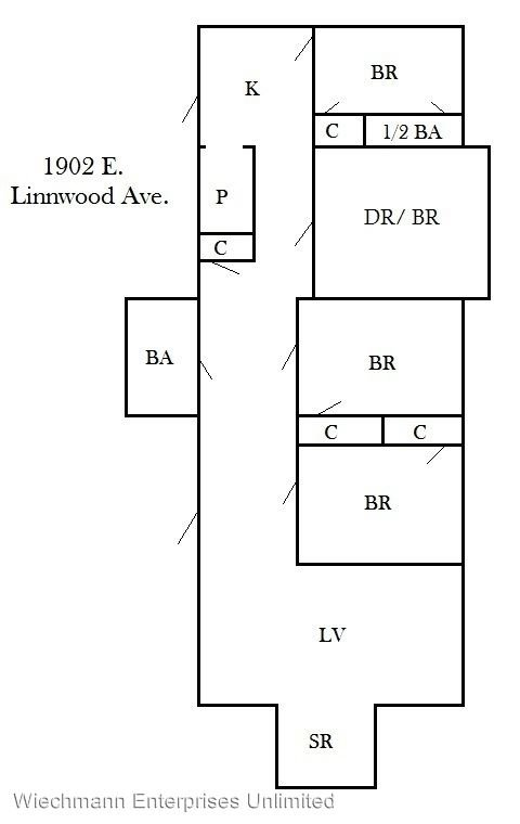 3 Bedrooms 1 Bathroom Apartment for rent at 1902 Linnwood in Milwaukee, WI
