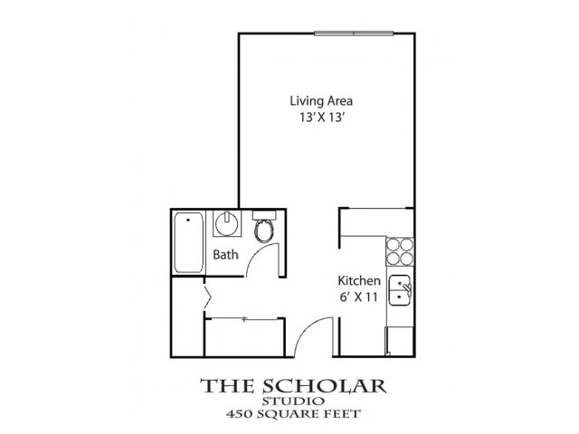 Studio 1 Bathroom Apartment for rent at 600 10th Ave SE in Minneapolis, MN