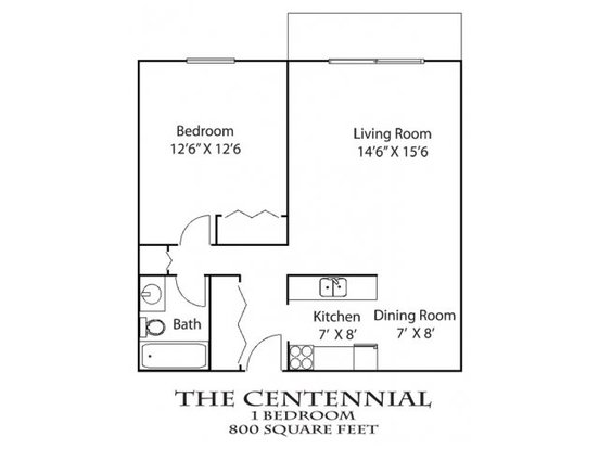 1 Bedroom 1 Bathroom Apartment for rent at Earle Brown Farm in Brooklyn Center, MN