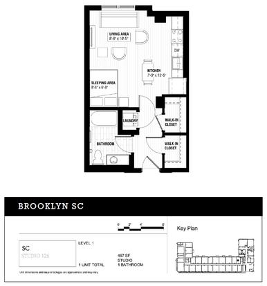 Studio 1 Bathroom Apartment for rent at Third North Apartments in Minneapolis, MN
