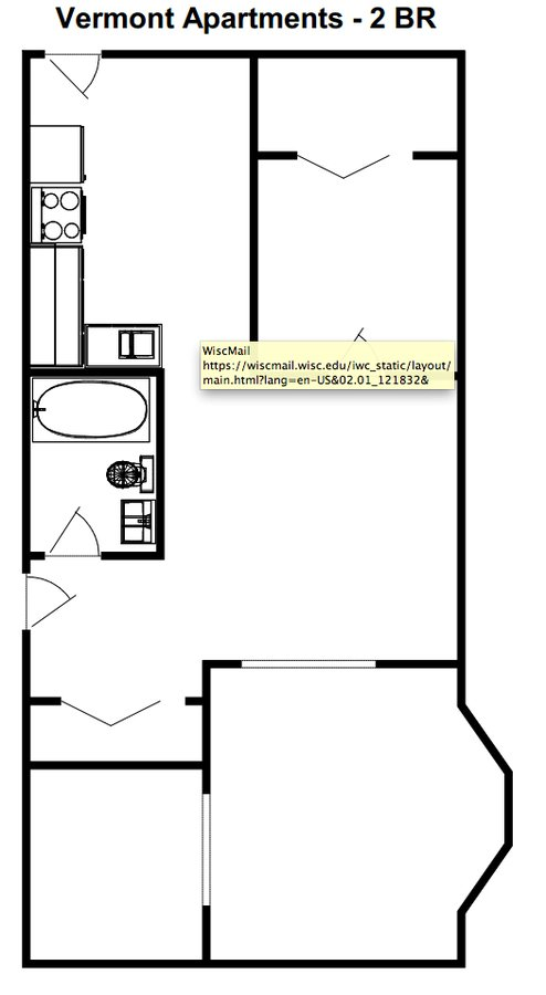 2 Bedrooms 1 Bathroom Apartment for rent at Vermont Apartments in Milwaukee, WI