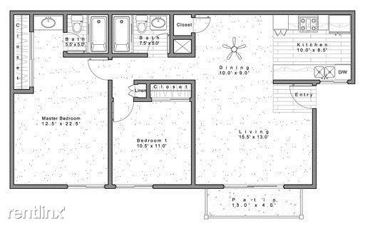 2 Bedrooms 2 Bathrooms Apartment for rent at 2222 E. Huntington Drive in Duarte, CA