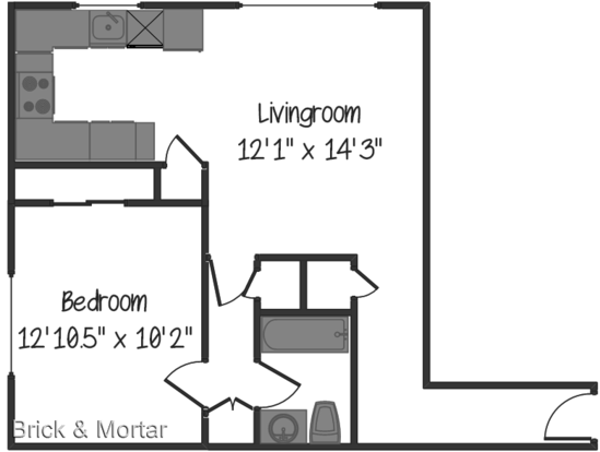 1 Bedroom 1 Bathroom Apartment for rent at 520 & 524 Ne 112th St. in Seattle, WA