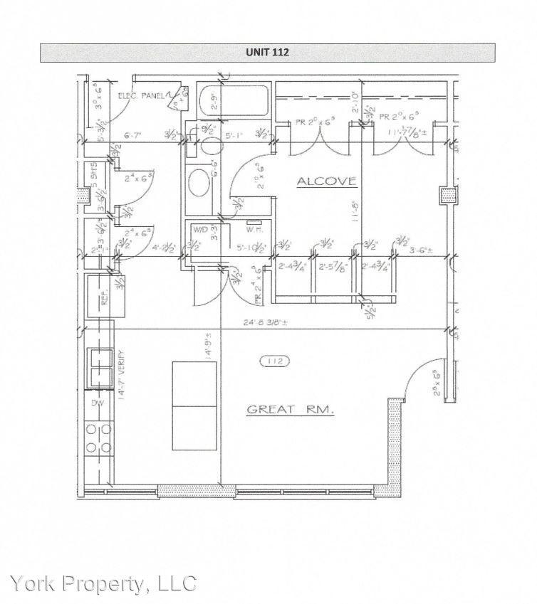 1 Bedroom 1 Bathroom Apartment for rent at 1439 Timberwood Boulevard in Charlottesville, VA