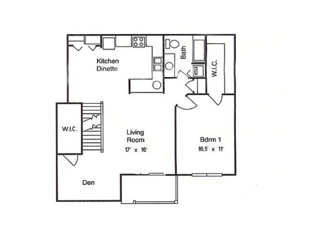 1 Bedroom 1 Bathroom Apartment for rent at Glens of Waukesha in Waukesha, WI