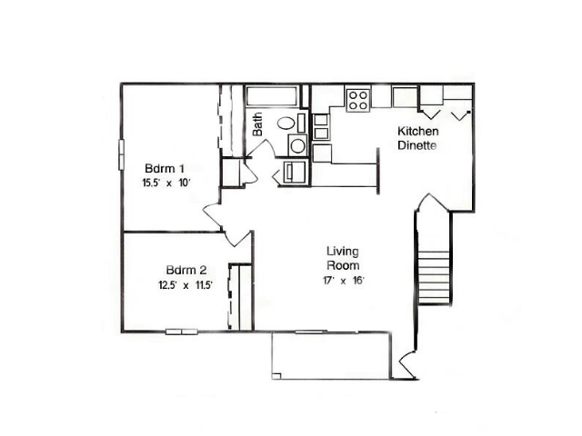 2 Bedrooms 1 Bathroom Apartment for rent at Glens of Waukesha in Waukesha, WI
