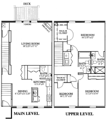 3 Bedrooms 2 Bathrooms Apartment for rent at The Cove and Point Condos in Columbus, OH