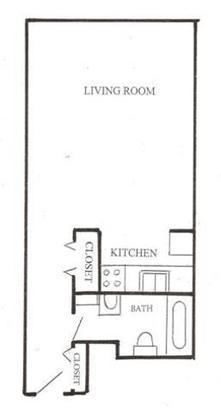 Studio 1 Bathroom Apartment for rent at Bryant Avenue Apartments - 2550 in Minneapolis, MN
