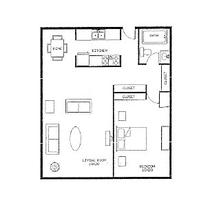 1 Bedroom 1 Bathroom Apartment for rent at Dupont Avenue Apartments 3040 in Minneapolis, MN