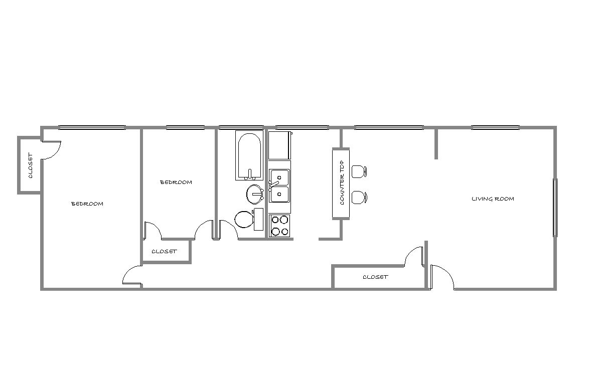 2 Bedrooms 1 Bathroom Apartment for rent at First Ave. Apartments in Minneapolis, MN