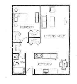 1 Bedroom 1 Bathroom Apartment for rent at Kings Highway Apartments in Minneapolis, MN
