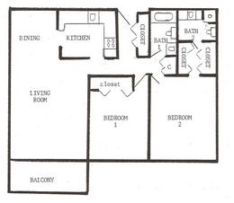 2 Bedrooms 2 Bathrooms Apartment for rent at Laurel At West End in Golden Valley, MN