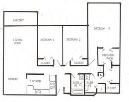 3 Bedrooms 2 Bathrooms Apartment for rent at Laurel At West End in Golden Valley, MN