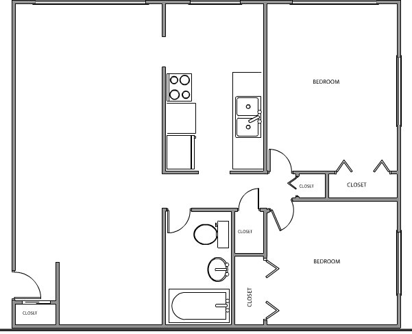 1 Bedroom 1 Bathroom Apartment for rent at Quarry Place in Minneapolis, MN