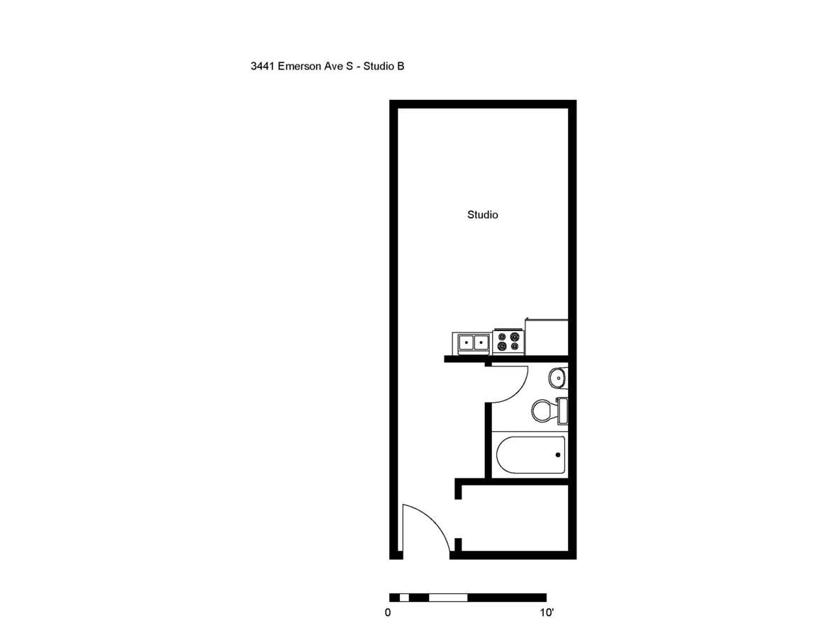 Studio 1 Bathroom Apartment for rent at Flats at Emerson in Minneapolis, MN