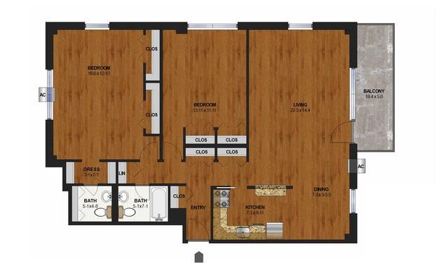 2 Bedrooms 2 Bathrooms Apartment for rent at Calhoun Shores in Minneapolis, MN