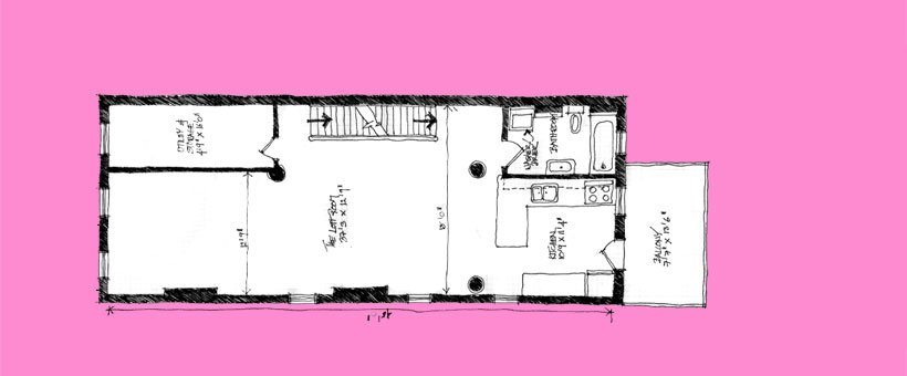 2 Bedrooms 1 Bathroom Apartment for rent at Little Pink Houses in Pittsburgh, PA