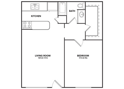 1 Bedroom 1 Bathroom Apartment for rent at Solea Alamo Ranch in San Antonio, TX