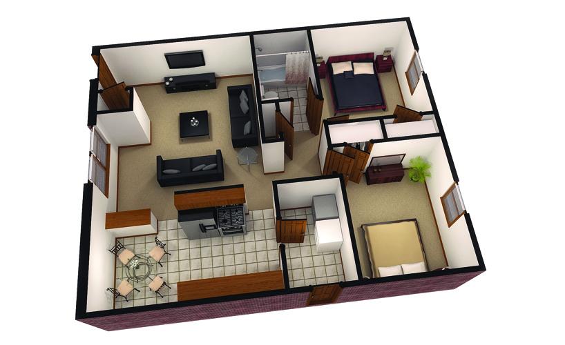 2 Bedrooms 1 Bathroom Apartment for rent at Bengal Ridge in Columbia, MO