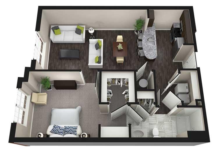 Elegant Aria Luxury Apartments Columbia Mo