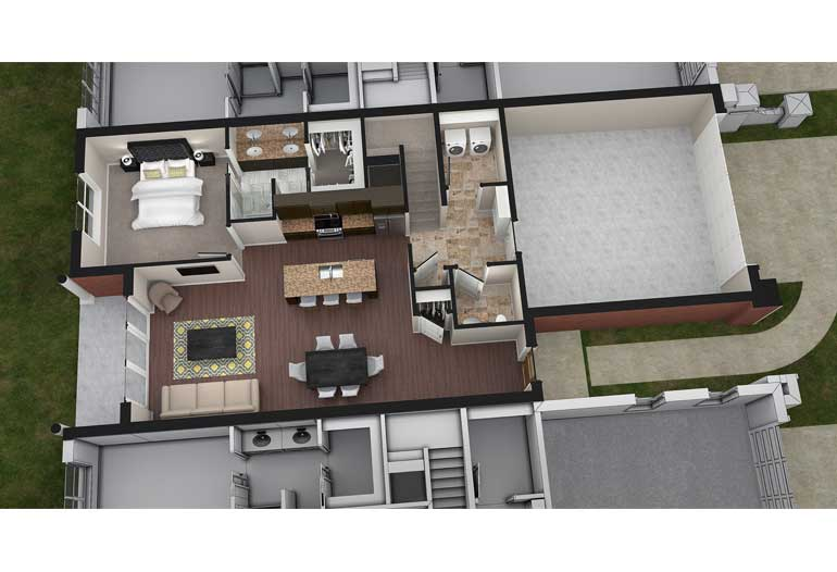 3 Bedrooms 3 Bathrooms Apartment for rent at The Residences At Old Hawthorne in Columbia, MO
